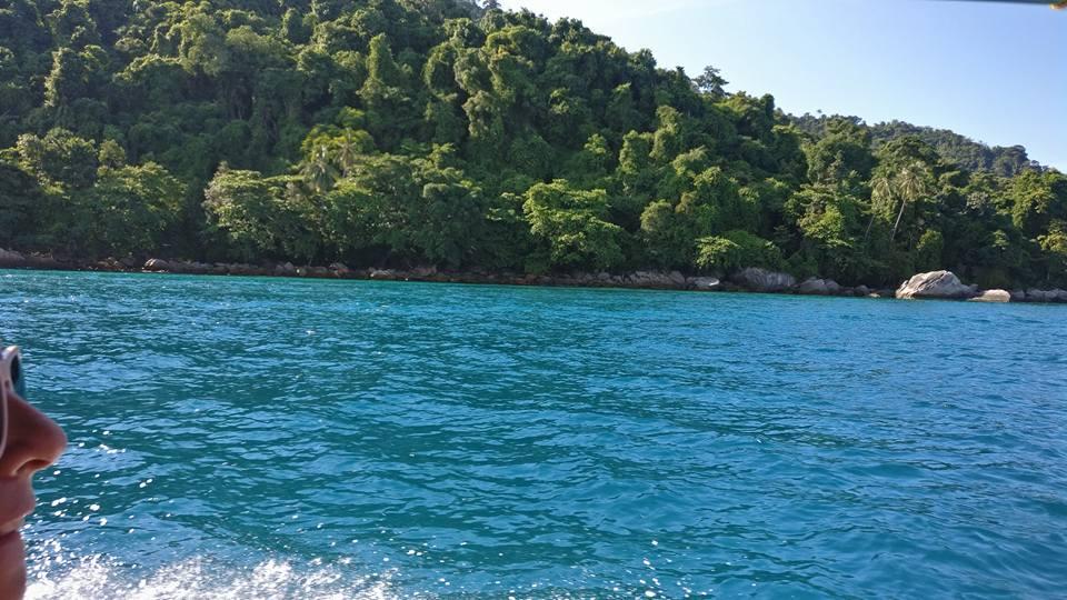 selva y mar en perhentian